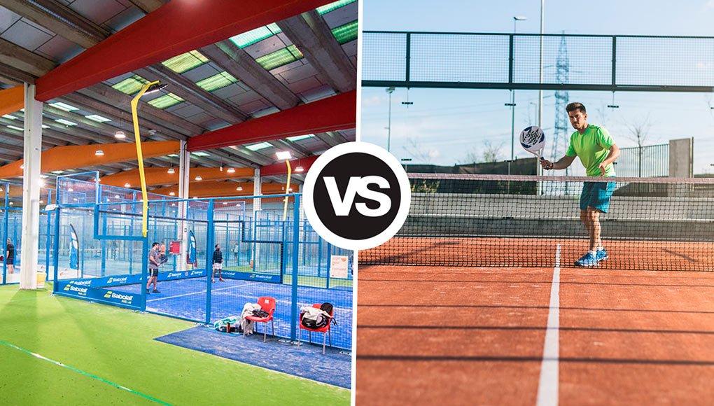 ¿Qué prefieres? ¿Pistas de pádel cubiertas o al aire libre?