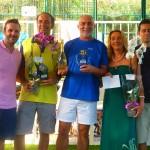 Campeones de 4ª masculina: Paco Ramos y Jose Manuel Ruíz