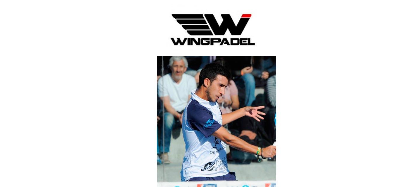 Álvaro Cepero , nuevo jugador de Wingpadel