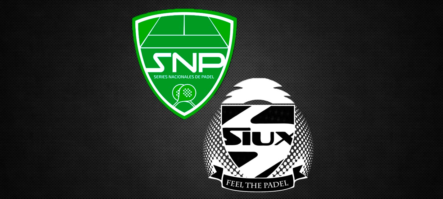Siux es el nuevo patrocinador oficial de las Series Nacionales de Pádel