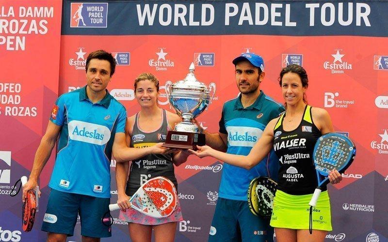 Bela-Lima y Salazar-Marrero se coronan en Las Rozas Open