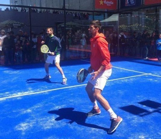 Novak Djokovic se pasa al pádel en el Mutua Madrid Open