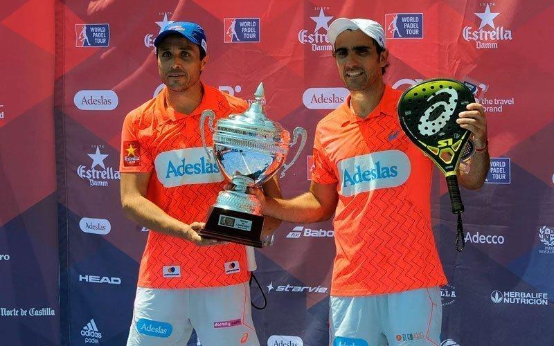 Bela y Lima se coronan en el Estrella Damm Valladolid Open