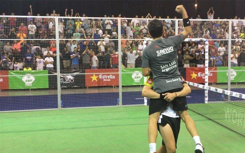 Concluyeron unas vibrantes semifinales del Mendoza Open