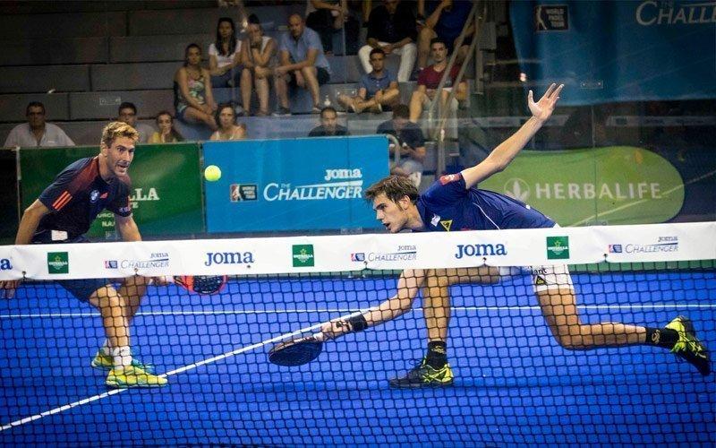 Crónica de las semifinales del Joma Murcia Challenger