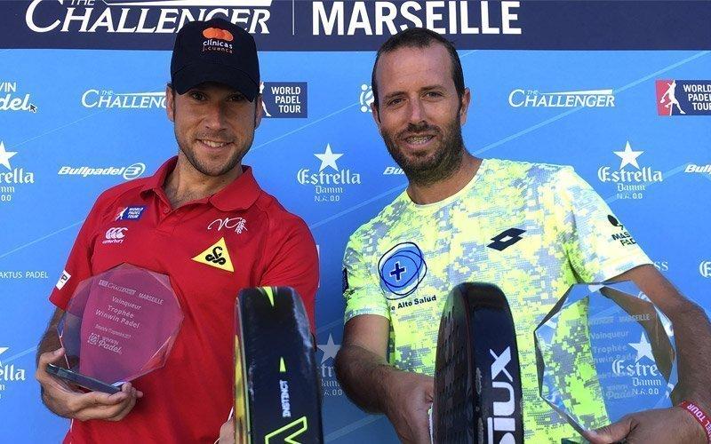 Nacho Gadea y Germán Tamame se imponen en el Marsella Challenger