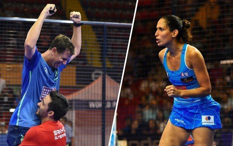 Paquito - Sanyo y Majo - Mapi protagonistas de la final del Sevilla Open
