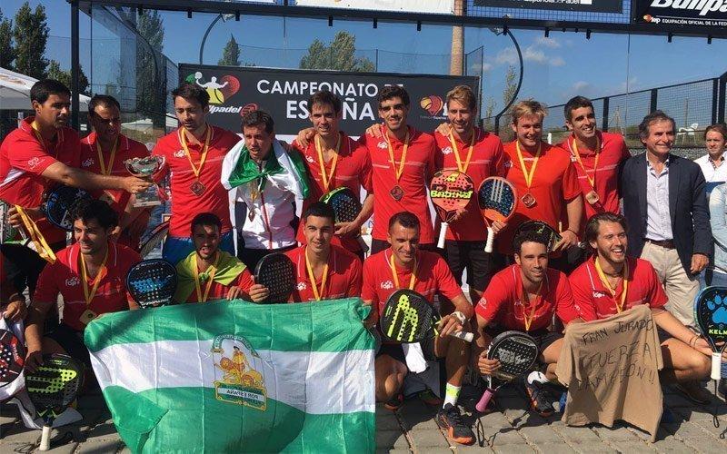Andalucía gana el Campeonato de España por Selecciones Autonómicas Absolutas en categorías masculina