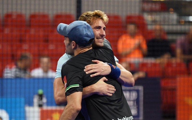 Alex Ruíz y Seba Nerone dan la campanada en los cuartos del Zaragoza Open