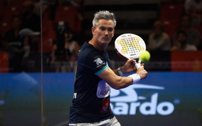 Miguel Lamperti, el omnipresente en el Zaragoza Open