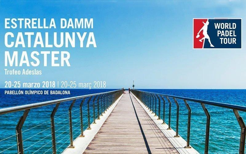 El World Padel Tour comenzará con el Estrella Damm Catalunya Master