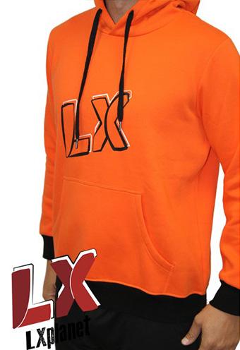 Sudadera naranja LX Planet Team