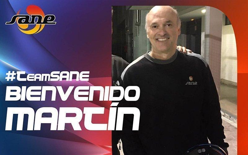 Martín Echegaray se suma al #TeamSANE...