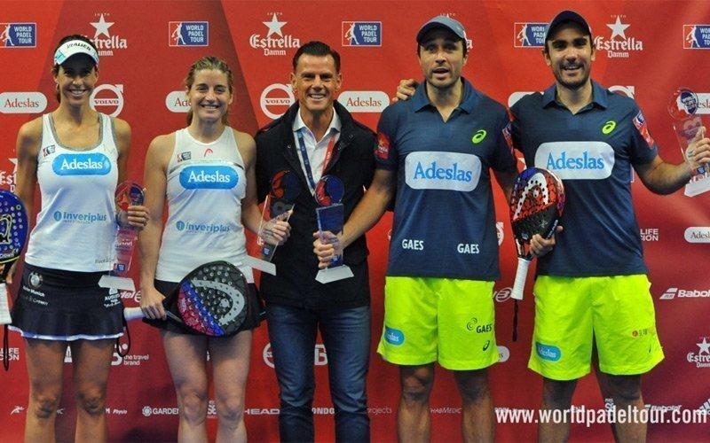 Bela - Lima y Marrero - Salazar resultan ganadores del Alicante Open