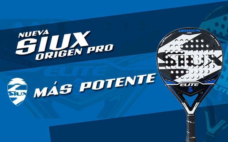 Siux Origen Pro: nueva goma, mayor potencia, máxima jugabilidad