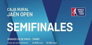 Sigue en directo el streaming de las semifinales del Jaén Open desde las 15.00