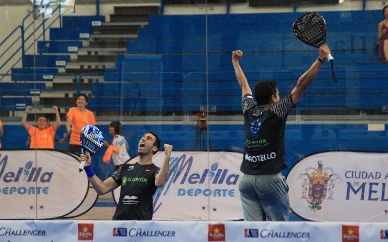 Final del Melilla Challenger: Botello - Ruíz y Ortega - Sánchez se llevan el título