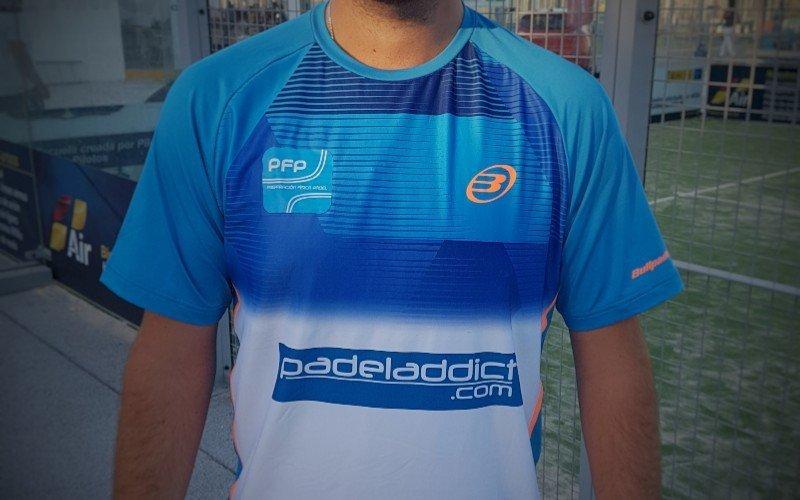 Participa en el sorteo de esta fabulosa camiseta Bullpadel