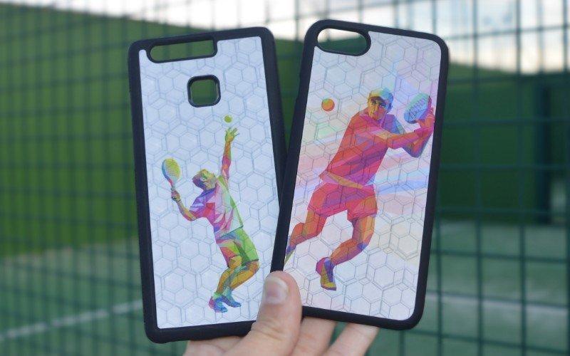 Carcasas 3D de pádel de Phonecases3d