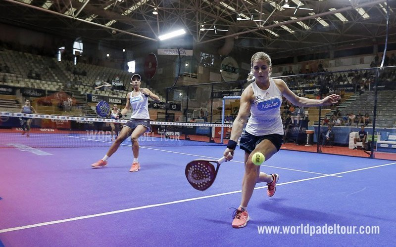 Lugo Open: Marta Marrero y Ale Salazar vencen a Bea González y Cata Tenorio en semifinales