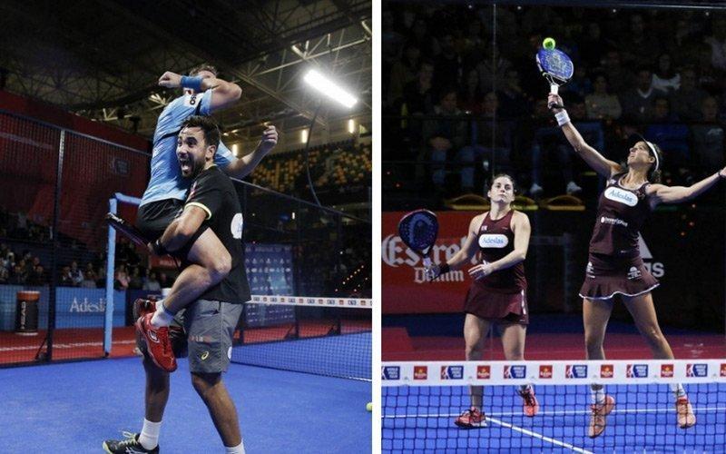 Paquito - Lima y Salazar - Marrero se proclaman ganadores del Bilbao Open