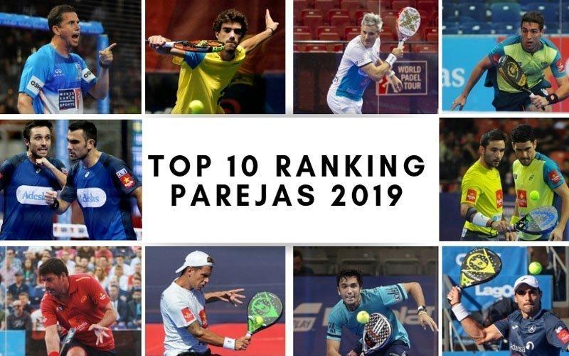 ¿Quienes ocuparán las 10 primeras posiciones del ranking por parejas de 2019?