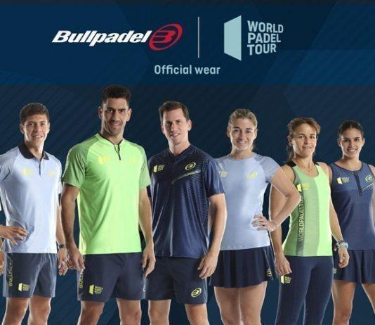 Bullpadel presenta su textil oficial del World Padel Tour 2019