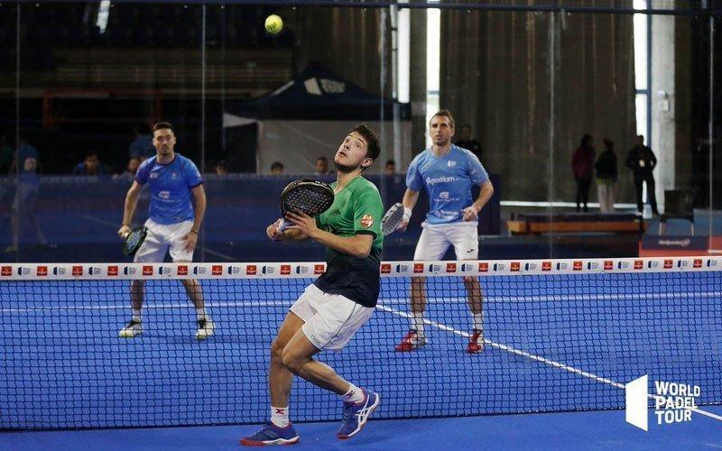 Las parejas favoritas cumplen en los dieciseisavos del Logroño Open