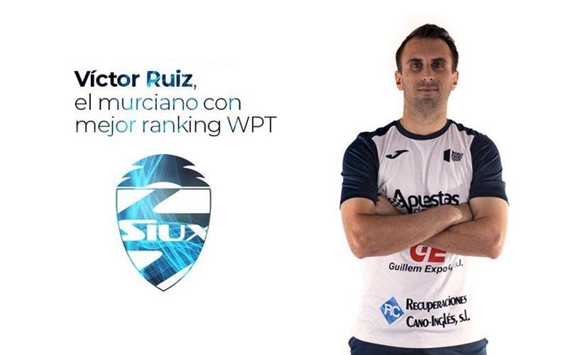 Víctor Ruíz, nuevo fichaje de la marca Siux Padel