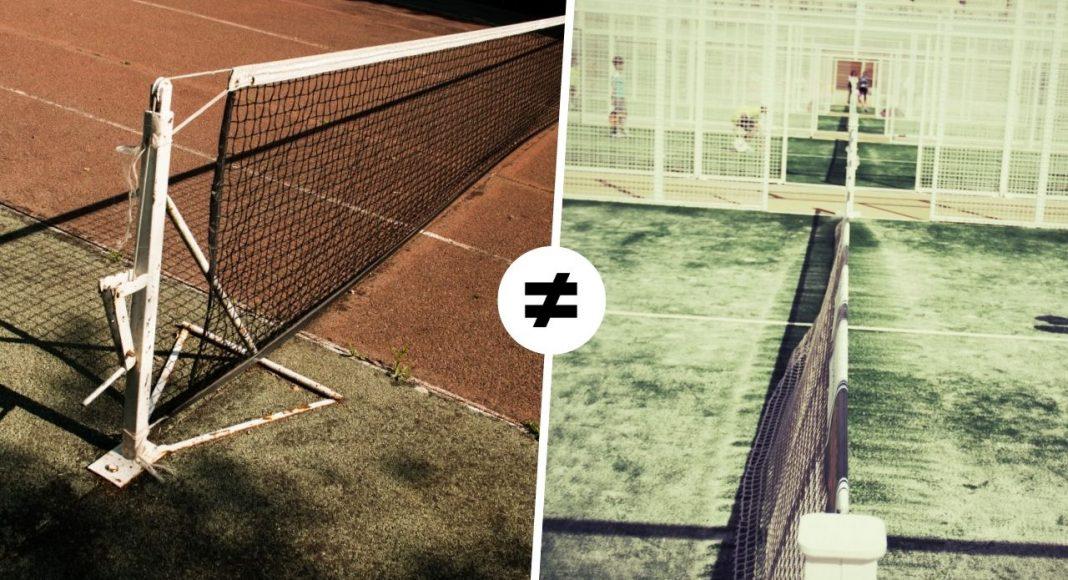 Las principales diferencias entre el tenis y el pádel