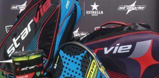 StarVie, nuevo patrocinador de las Series Nacionales de Pádel en bola, pala y bolsería