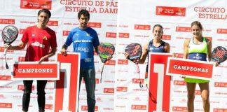 Ortega/Acevedo y Alonso/Talaván vencen en la última prueba del Circuito de Pádel Estrella Damm
