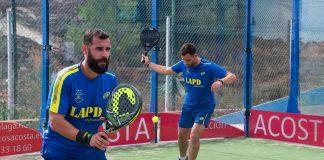 Los Caballeros vencen en su salida a Club de Tenis Málaga