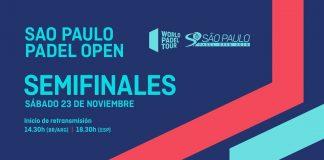 Sigue desde las 18:30 el streaming de las semifinales del Sao Paulo Open