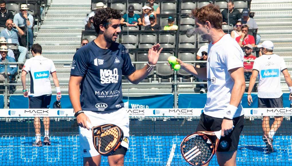 Álex Ruíz y Martín S. Piñeiro vencen a Bela y Tapia en los octavos del México Open