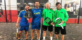 Los Caballeros de Pádel Málaga inician la 2ª vuelta con una nueva victoria