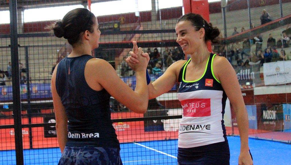 Ana Catarina Nogueira y Delfi Brea volverán a competir juntas de nuevo