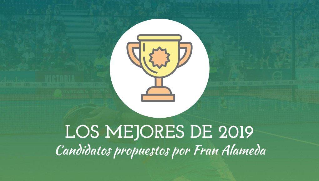 Fran Alameda nos presenta a sus candidatos en la votación de los mejores de 2019