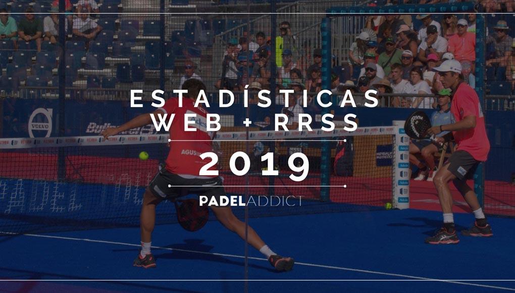Padel Addict mejora más si cabe sus estadísticas en 2019