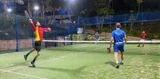 Los Caballeros de Pádel Málaga empatan a 6 frente a la Reserva del Higueron