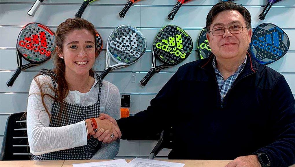 Adidas Padel anuncia la renovación de Martita Ortega, Álex Ruíz y Seba Nerone