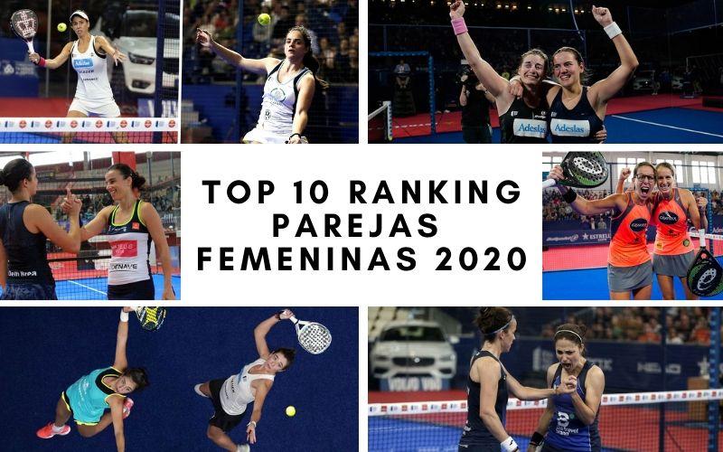 ¿Qué parejas femeninas ocuparán las 10 primeras posiciones del ranking de 2020?