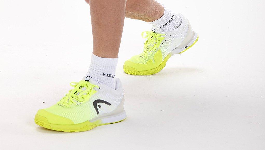 Conoce las nuevas zapatillas Sprint Pro 3.0 Clay de Sanyo Gutiérrez