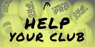 HEAD Padel lanza una iniciativa para ayudar a clubes y jugadores