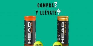 HEAD Padel lanza nueva promoción: Compra 3 botes y consigue 1 gratis