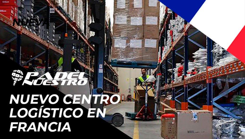 Padel Nuestro afianza su expansión internacional con la apertura de un centro logístico en Francia