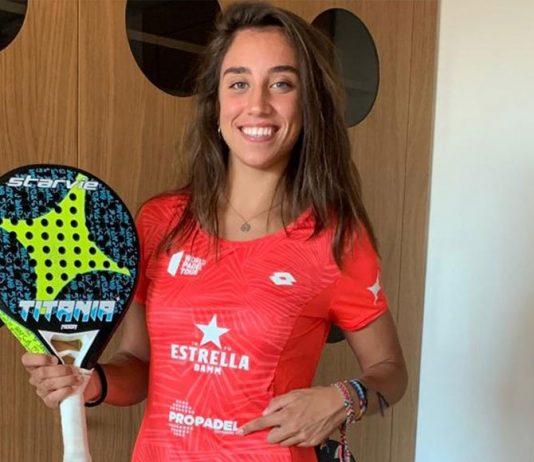 Bea González, nueva imagen del club Propadel de Dinamarca