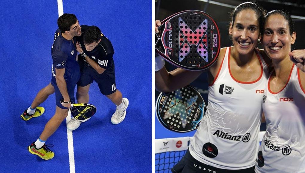 Finales del Adeslas Open: Ganan Galán - Lebrón y Majo - Mapi
