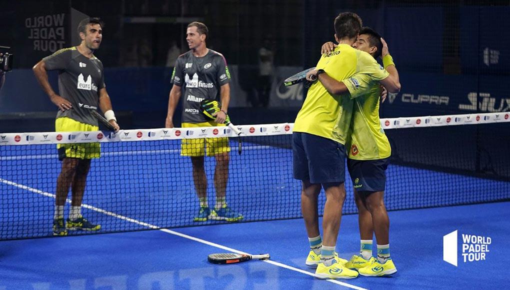 Semifinales del Adeslas Open: Tello y Chingotto destrozan las apuestas