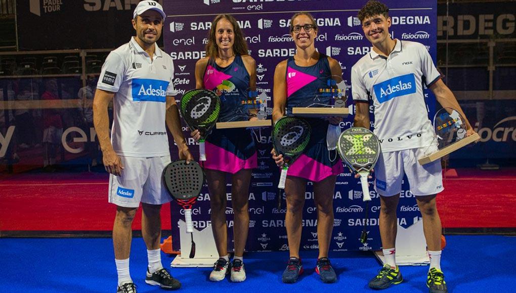 Finales del Sardegna Open: Bela - Tapia y Triay - Sainz conquistan Italia